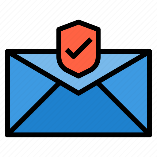 crime, email, protection, security icon