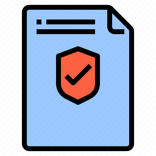 crime, defence, file, protection icon