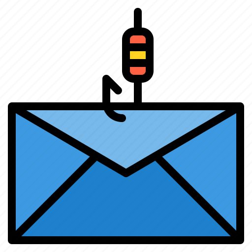 crime, email, fishing icon