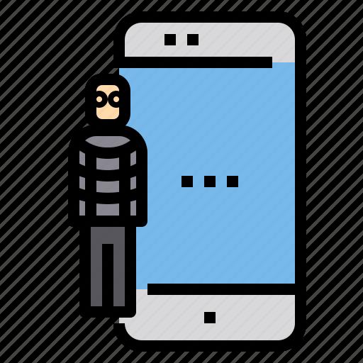 Crime, hacker, smartphone icon - Download on Iconfinder