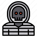 crime, hacker, security icon