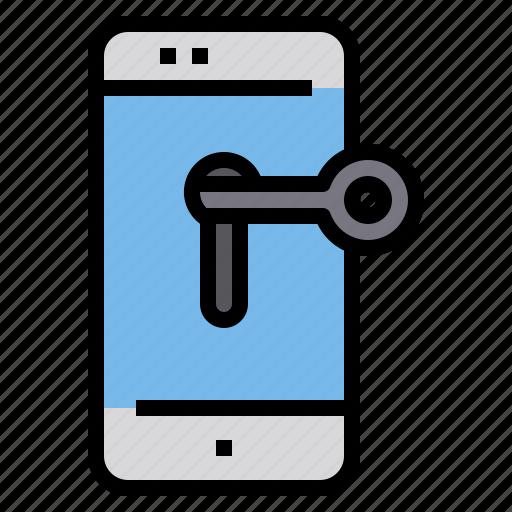 Crime, password, smartphone icon - Download on Iconfinder