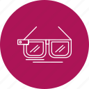 3d, glasses, movie, sunglasses