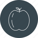 apple, food, fruit, fruits, healthy icon