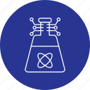 artificial, beaker, intelligence icon