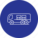 bus, public, transportation icon
