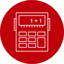 budget, calculator, money icon