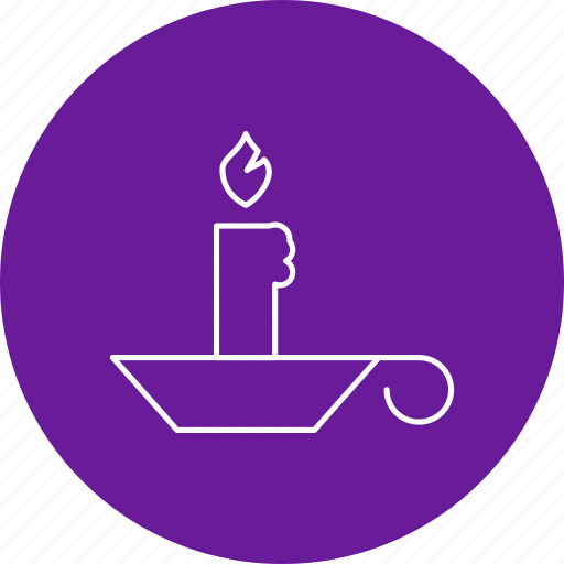 Candle, halloween, wax icon - Download on Iconfinder