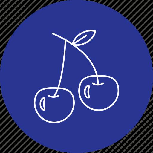 berry, cherry, food, fruit icon
