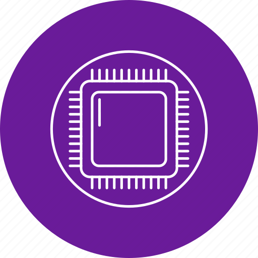 Chip, hardware, microchip icon - Download on Iconfinder