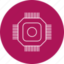 chip, hardware, microchip icon