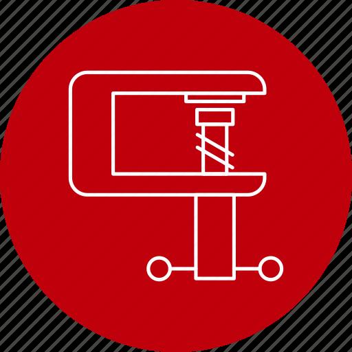 clamp, diy, tool icon