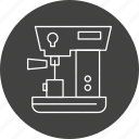 cleaner, cloth, coffee, kitchen, machine, maker icon