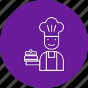 avatar, chef, cook icon
