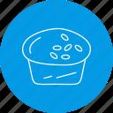cake, cup, dessert, food, muffin