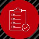 checklist, clipboard, delivery, logistics