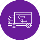 truck, delivery, commerce