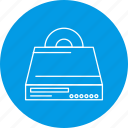 cd, dvd, player icon
