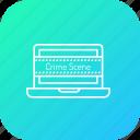 crime, cyber, data, digital, hack, leak, threat icon