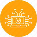attack, connection, cyber, data, hack, leak, secure icon