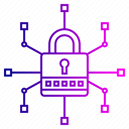 crime, cyber, lock, network, secure, security, threats icon