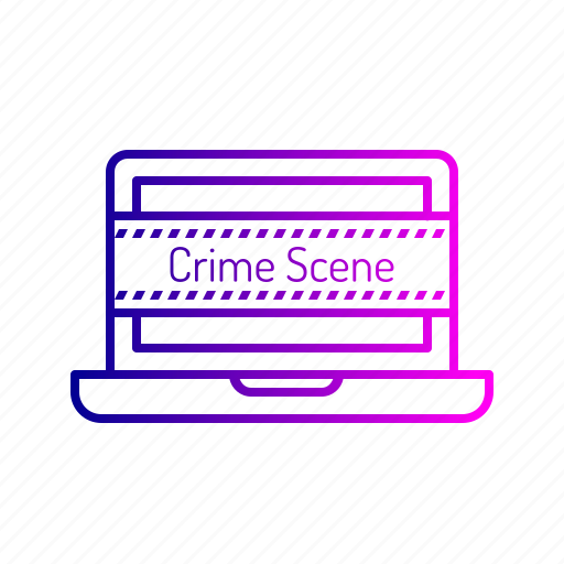 crime, cyber, data, device, hack, leak, threat icon