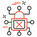 crime, cyber, internet, lock icon