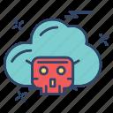 cloud, crime, cyber, internet