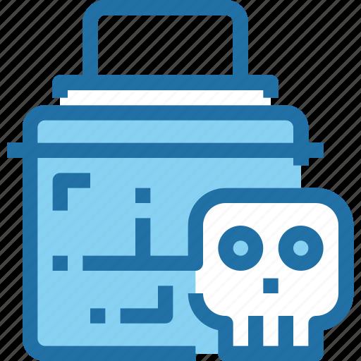 Crime, hack, padlock, secure, security, skull icon - Download on Iconfinder