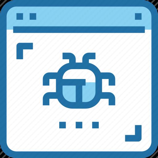Browser, crime, hack, security, website icon - Download on Iconfinder
