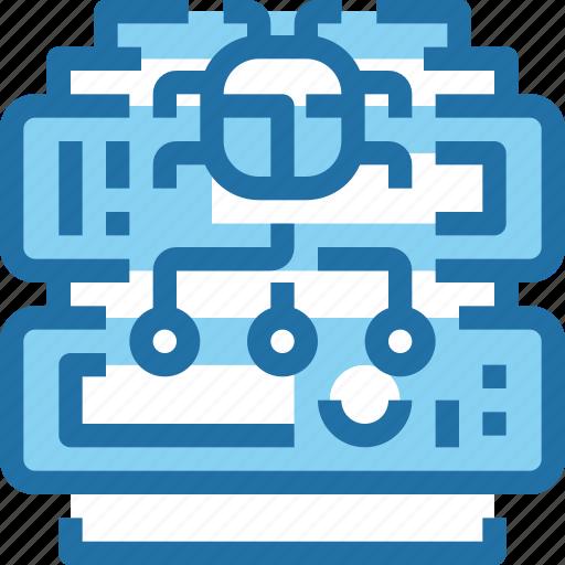 Crime, database, hack, security, server icon - Download on Iconfinder