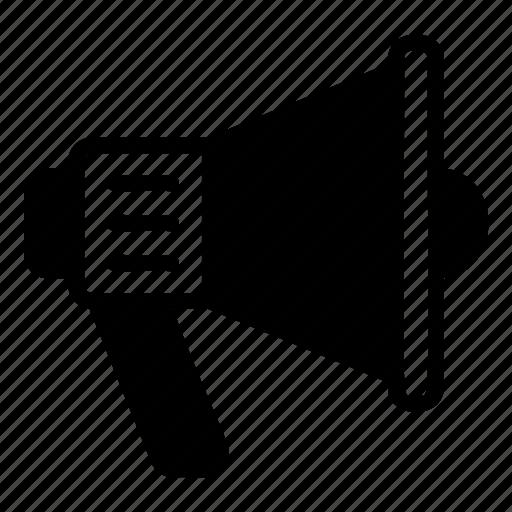 announcement, loudspeaker, marketing, megaphone, promotion icon