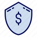 cyber monday, money, payment, secure icon