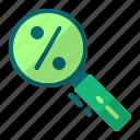 cyber monday, discount, percent, search icon