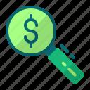 cyber monday, money, price, search icon