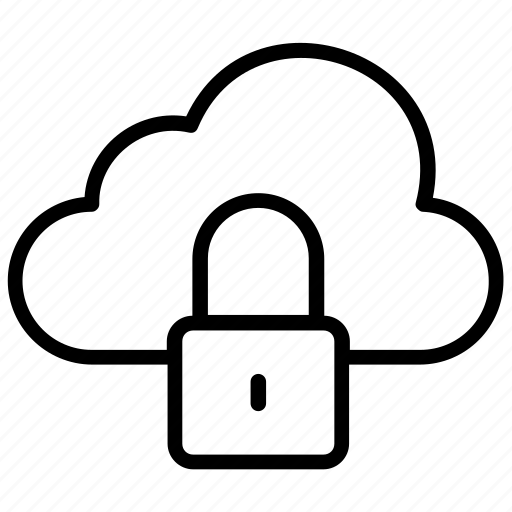 cloud computing, cloud safety, cloud security, cloud storage, data protection icon