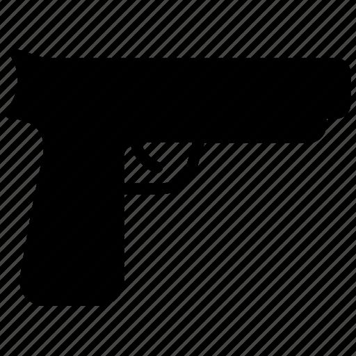 gun, pistol, revolver, shooting, weapon icon
