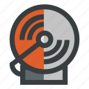 alarm, alert, security icon