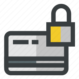 creditcard, secure, security icon