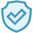 accept, danger, firewall, forbidden, protection, shield icon