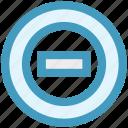 ban, cancel, circle, cyber, denied, sign icon