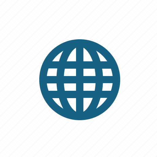 globe, internet, network, web, world wide web icon