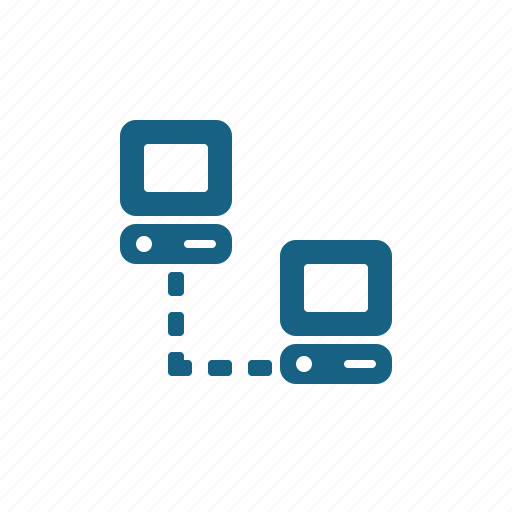 computer, network, networking icon