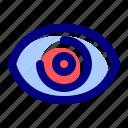 business, data, digital, eye, internet, monitoring, technology icon