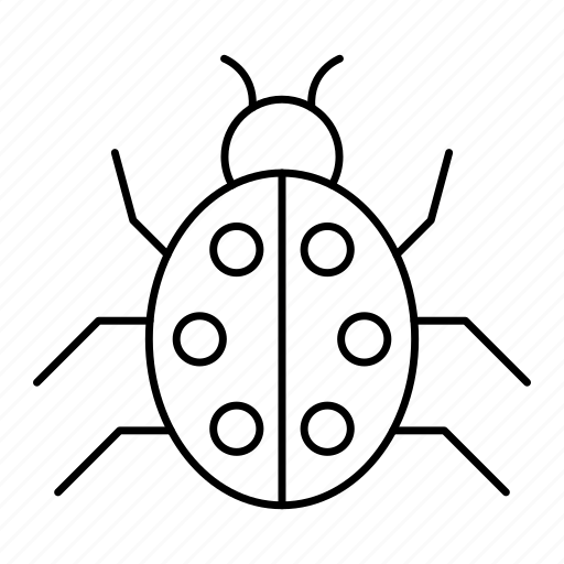 Bug, fly, insect, ladybird, virus security icon - Download on Iconfinder