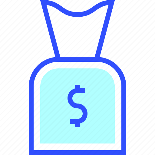 bag, business, company, cyber, money, security, startup icon