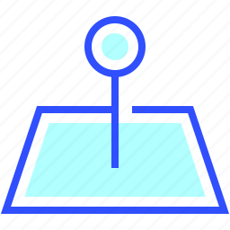 business, company, cyber, digital, location, security, startup icon