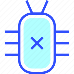bug, business, company, cyber, digital, security, startup icon