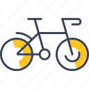 bike, cycling, transport icon