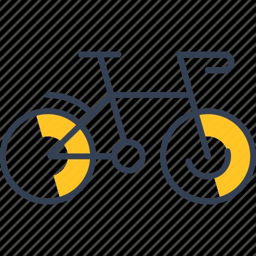 bike, cycling, transport icon